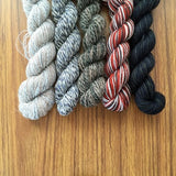 Falcon- Recycled Mini Skeins 50g Sock
