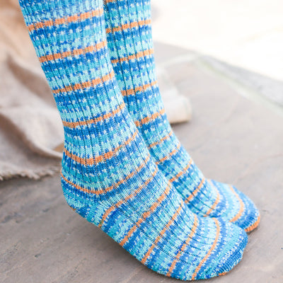 Real Wool Socks- Size S, M, L - Kingfisher