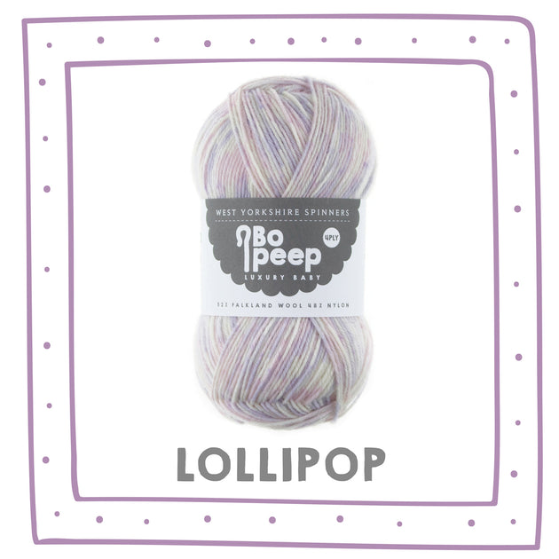 """Lollipop"" Bo Peep 4ply"