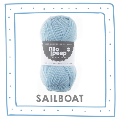 """Sailboat"" Bo Peep 4ply"