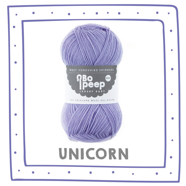 """Unicorn"" Bo Peep 4ply"