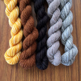 Luke Cage- Recycled Mini Skeins 50g Sock
