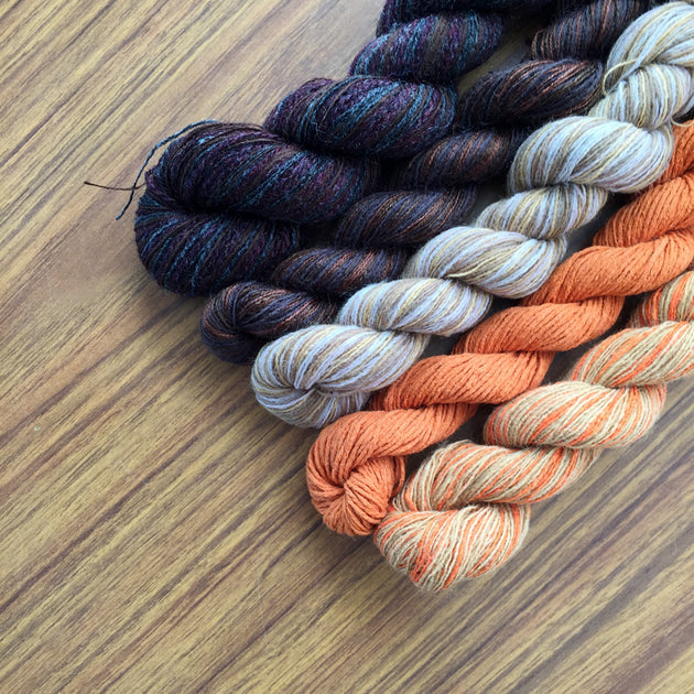 Jackolantern- Recycled Mini Skeins 50g Sock