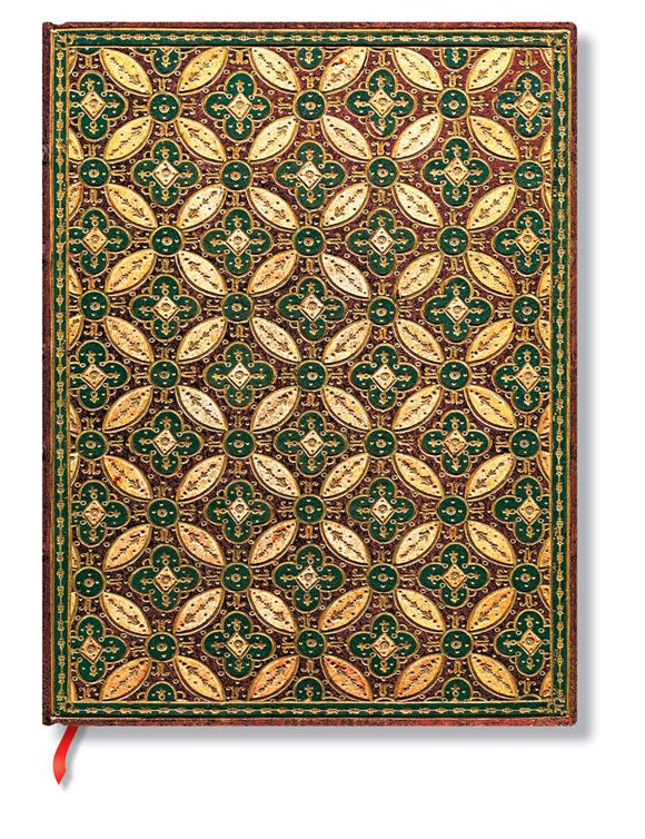 Paperblanks Writing Journal, Parisian Mosaic, Mosaique Safran Ultra 7