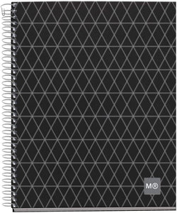 Miquelrius Premium Large Wirebound Notebook, 4-Subject, College Ruled, Diamond (8.5 x 11)