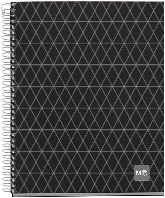 Miquelrius Premium A5 Medium Wirebound Notebook, 4-Subject, Graph Paper, Diamond (6 x 8)