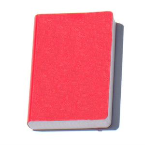 "Miquelrius Soft Bound Journal, Medium, 6"" x 8"", 200 sheets/400 pages, Lined, Red"
