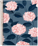"Miquelrius Large 4 Subject Wirebound Notebook - Hardcover, (120 Sheets-240 Pages, Lined), 8.5"" x 11"" (HYDRANGEA)"