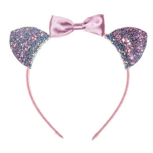 Rockahula Kids Bow Cat Ears, Pink