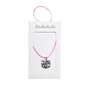 Rockahula Kids Glitter Necklace, Cat