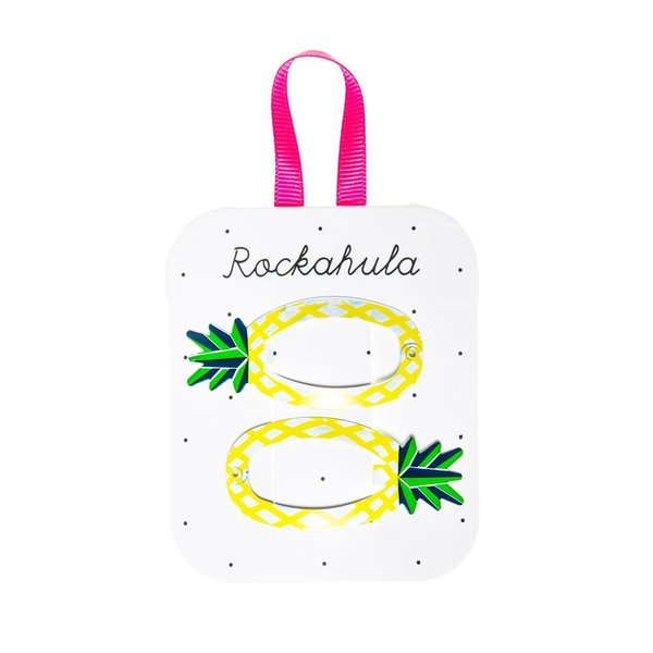 Rockahula Kids Hair Clip Set, Pineapple