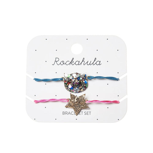 Rockahula Kids Glitter Bracelet Set, Cat & Star
