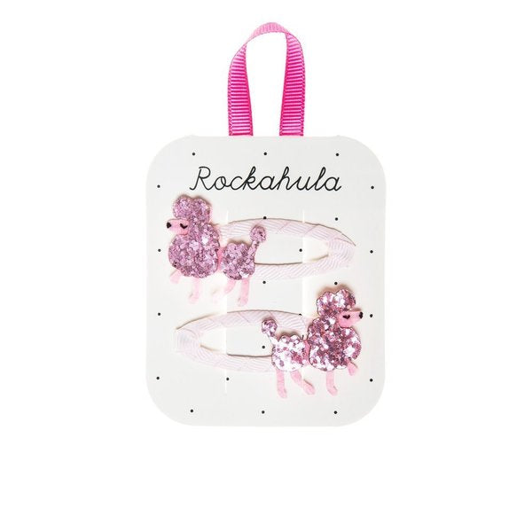 Rockahula Kids Hair Clip Set, Poodles