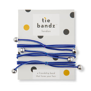 Tiebandz Midnight Bluez