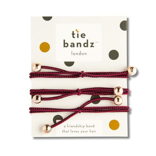 Tiebandz Deep Red Delight