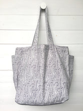 Reversible Cotton Bag, Paisley & Spots