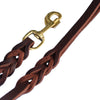 Heavy Duty Genuine Leather Braided Leash