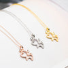 Doggy Pendant Necklace (Sterling Silver)