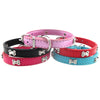 Durable Bone PU Leather Adjustable Collar