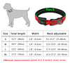 Adjustable Comfort Thick Padded Nylon Dog Collar Reflective