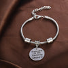 """Rescued Is My Favorite Breed"" Pendants Charm Bracelet"