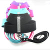 Soft Suede Rhinestone Harness