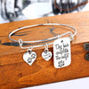 Pet Message Pendant Charms Bracelet