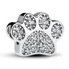 Paw Bracelet Charm (Sterling Silver)