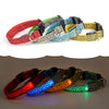 Leopard GLOW-IN-THE-DARK LED SAFETY COLLAR