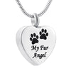 """My Fur Angel"" Urn Locket"
