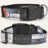 Star wars pattern printed Collar
