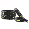 Outdoor Reflective Nylon Collar With ID Tag