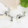 """I Love My Dog"" Bone Charm (Sterling Silver)"