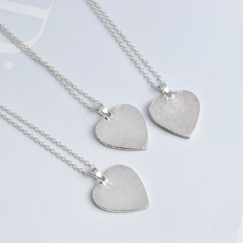 sizes web name heart necklace two forever silver one hearts product julia