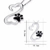 Infinity Furry Love Pendant Necklace (Sterling Silver)