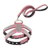 Rhinestone Harness & Leash Set