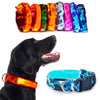 CAMOUFLAGE GLOW-IN-THE-DARK LED SAFETY COLLAR
