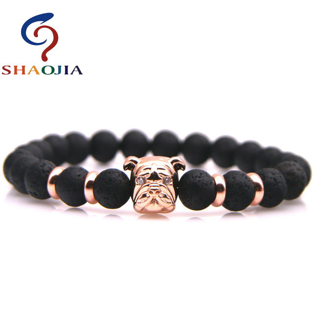 tiger natural anchor from bracelet product with color volcano beaded bangle wholesale amethyst stone lava seven eye fashion