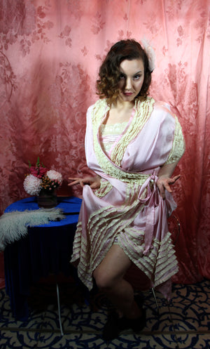 The 1920's Silk Set  L/XL+ #102