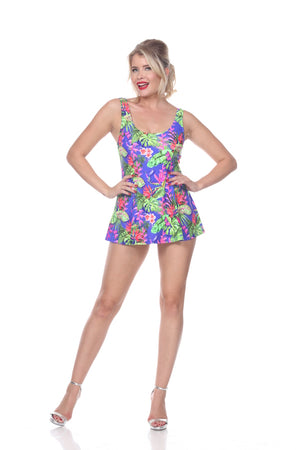 Tropical Swim Dress - sizes 6 + 18-24 left!