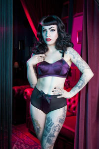 Plum Bullet Bra - only a few left!