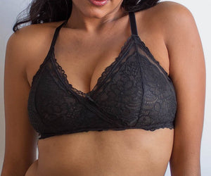 Lacey Easy Fit Bralette - Black - 28A-42H