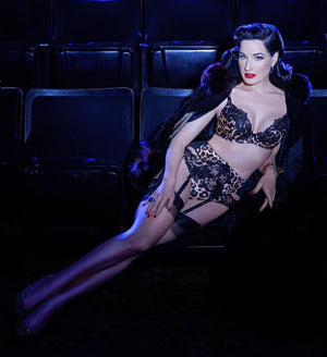 Dita Von Teese Millicent Bikini Knicker - sizes XS-L left