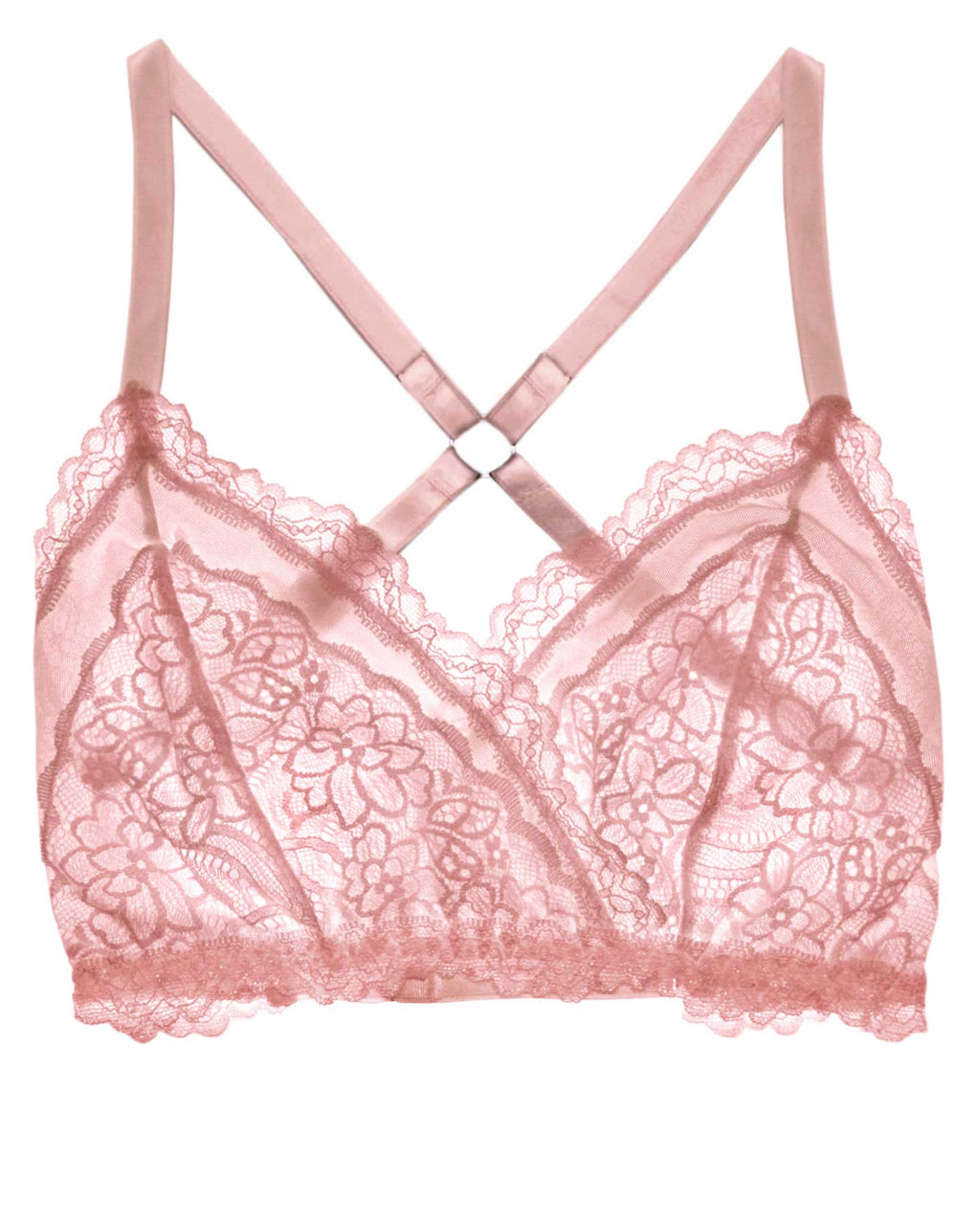 Lacey Easy Fit Bralette - Rose Quartz - 28A-42H
