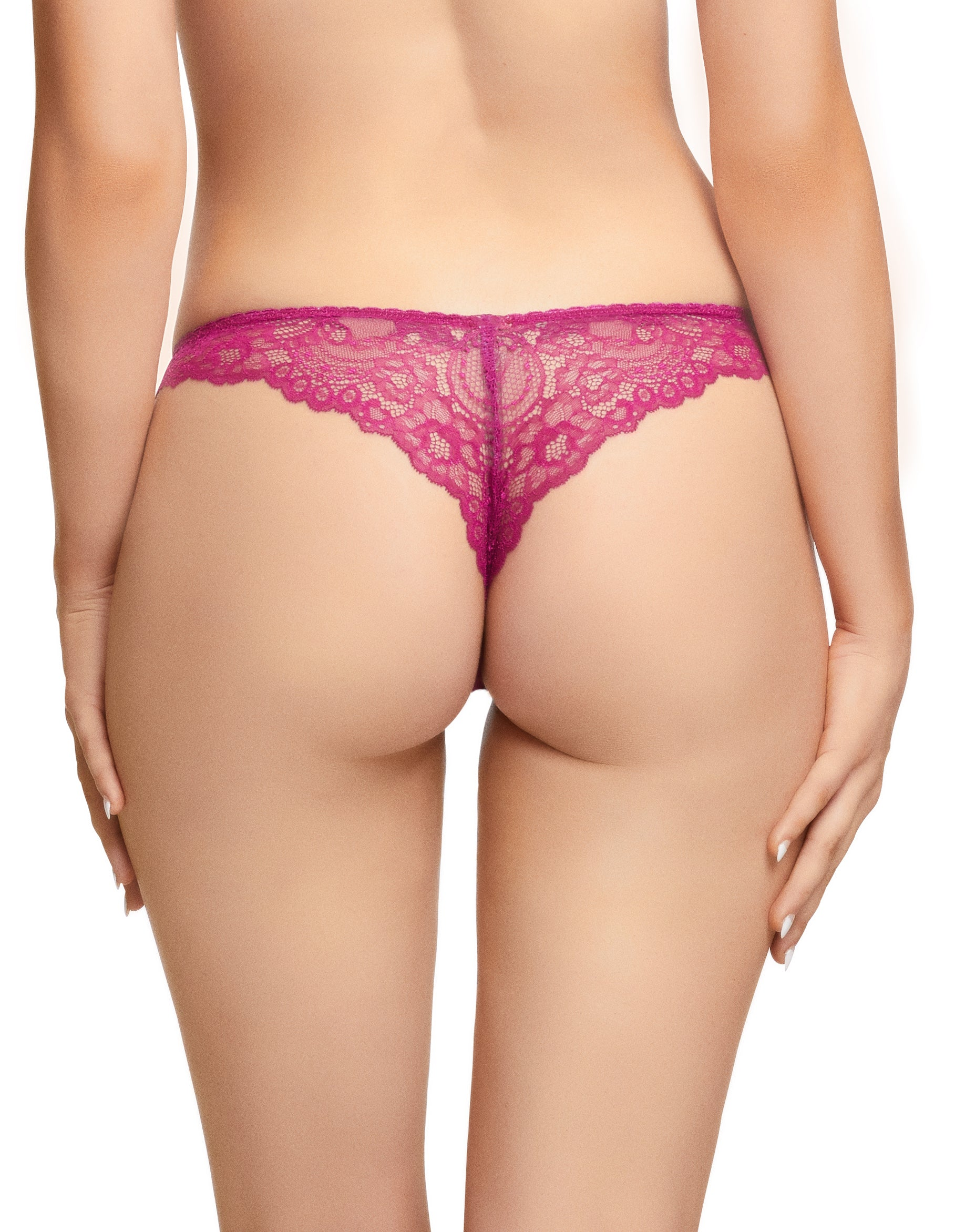 Dita Von Teese Fiamma Magenta Thong - sizes XS-M left!