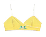 IV for Gigi : Yellow Dahlia Ginger Bralette