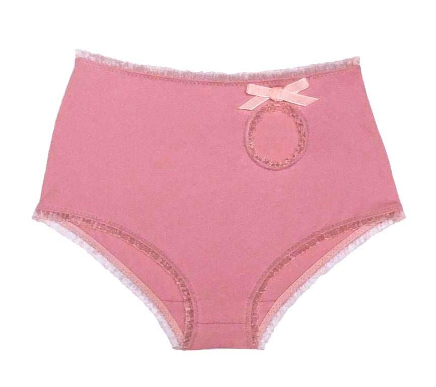 IV for Gigi : Pink Peony Grace Knicker (exclusive) XS - 1X