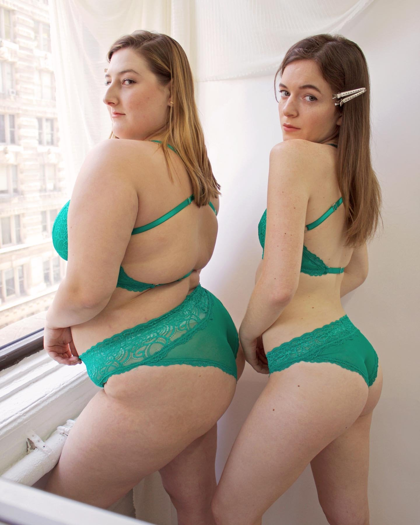 Lacey Panty - Emerald - only XS/S left!!