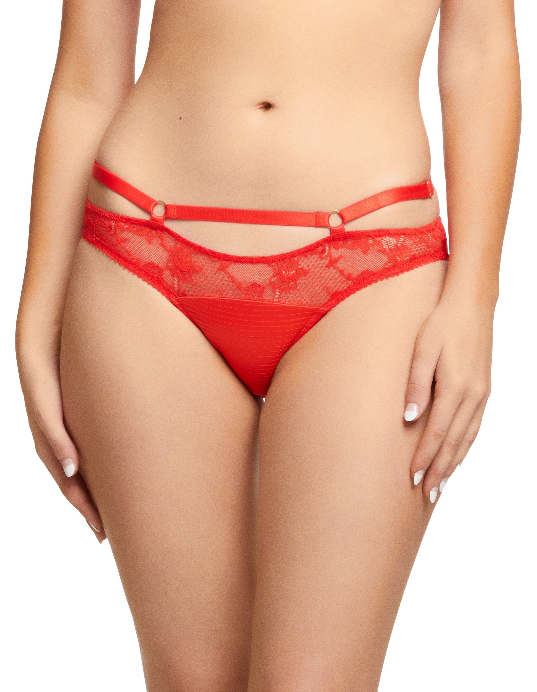 Dita Von Teese Madame X Bikini Brief in Flame - sizes XS-XL