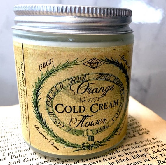1772 Orange Flower Cold Cream - Makeup Remover/Cleanser/Moisturizer